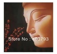 beatiful modern fashion oil painting on canvas south asia style meditation buddha free shipping