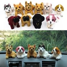Chiens chanceux secouant la tête   Mignon, décoration de voiture, cadeau de noël, chiens pour la décoration de voiture