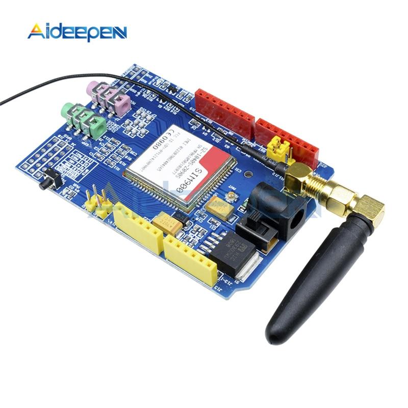 SIM900/850/900/1800/1900 MHz GPRS/GSM/placa de desarrollo Quad-Módulo de banda Kit RTC para Arduino GPIO PWM