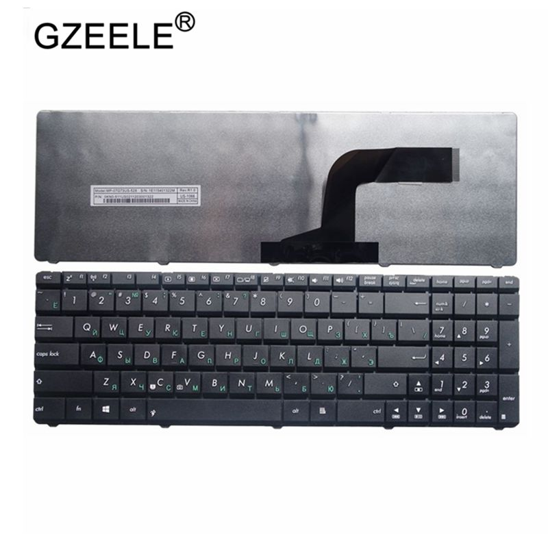 GZEELE russian NEW Keyboard For Asus N50 N53S N53SV K52F K53S K53SV K72F K52 A53 A52J G51 N51 N52 N53 G73 Laptop keyboard RU
