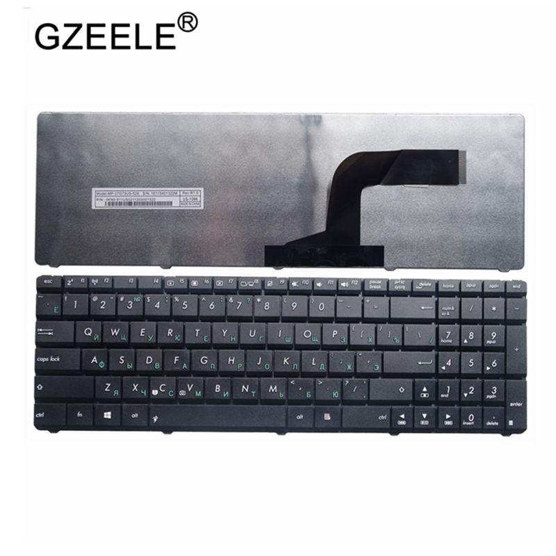 GZEELE nuevo ruso teclado para Asus N50 N53S N53SV K52F K53S K53SV K72F K52 A53 A52J G51 N51 N52 N53 G73 teclado del ordenador portátil.