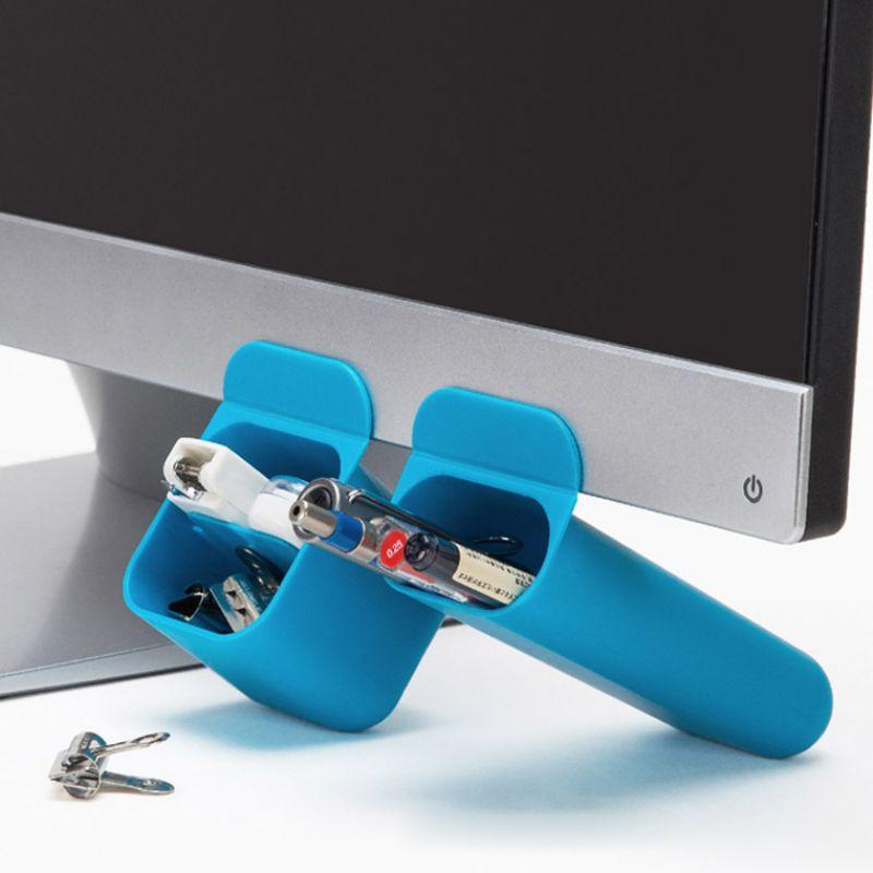 Contenedor soporte de pluma organizador de escritorio duradero Oficina escritorio pluma regla lápiz soporte organizador de taza