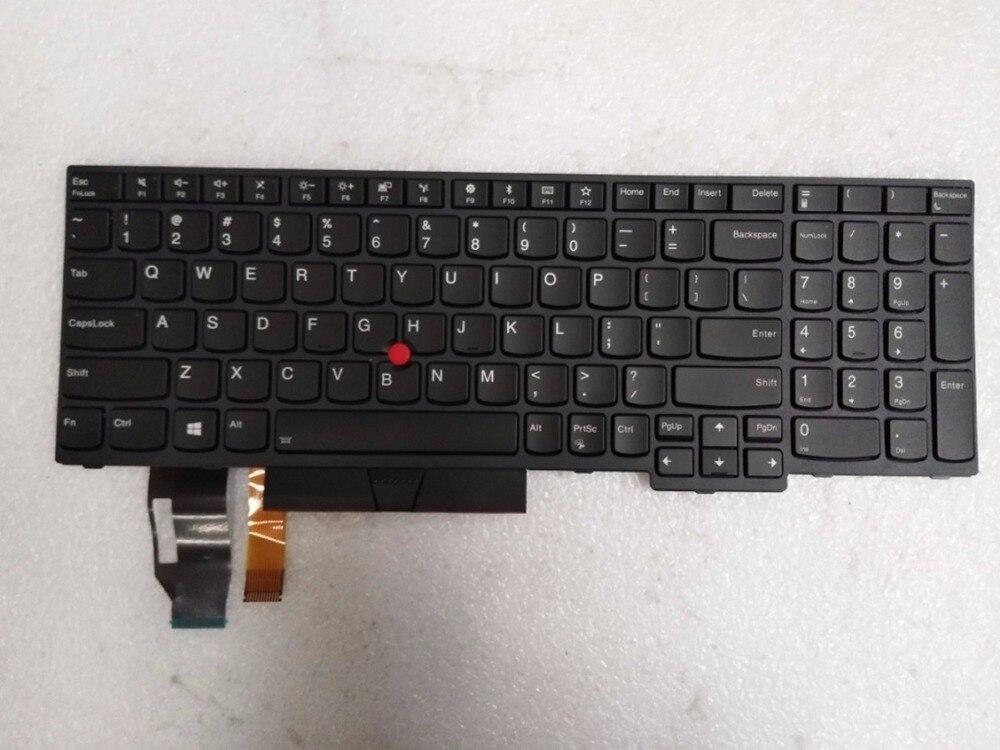 Nuevo y Original portátil Lenovo ThinkPad E580 L580 P52 P72 Teclado retroiluminado US 01YP600 01YP760 01YP680