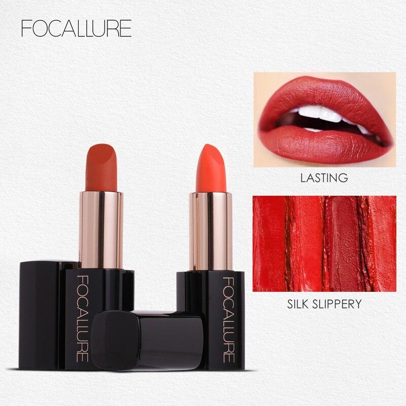 Nouveau Focallure rouge à lèvres 20 couleurs crème lisse lèvres Stick hydratant longue durée lèvres maquillage dame beauté maquillage cosmétique