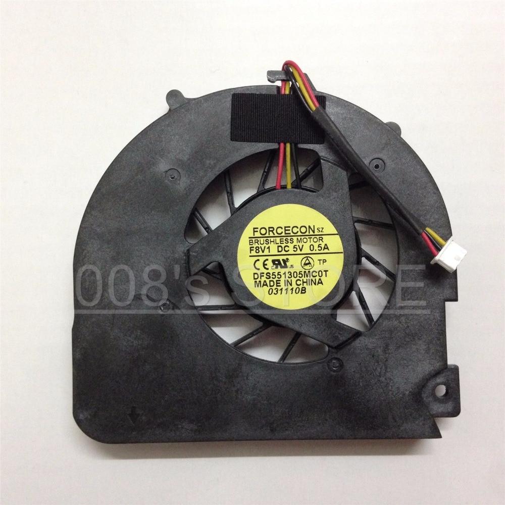 Новый охлаждающий вентилятор для ноутбука Packard Bell EasyNote TJ61 TJ62 TJ65 TJ66 TJ67 TJ71 TJ72 TJ73 TJ74 DFS551305MC0T F8V1 DC 5V 0.5A