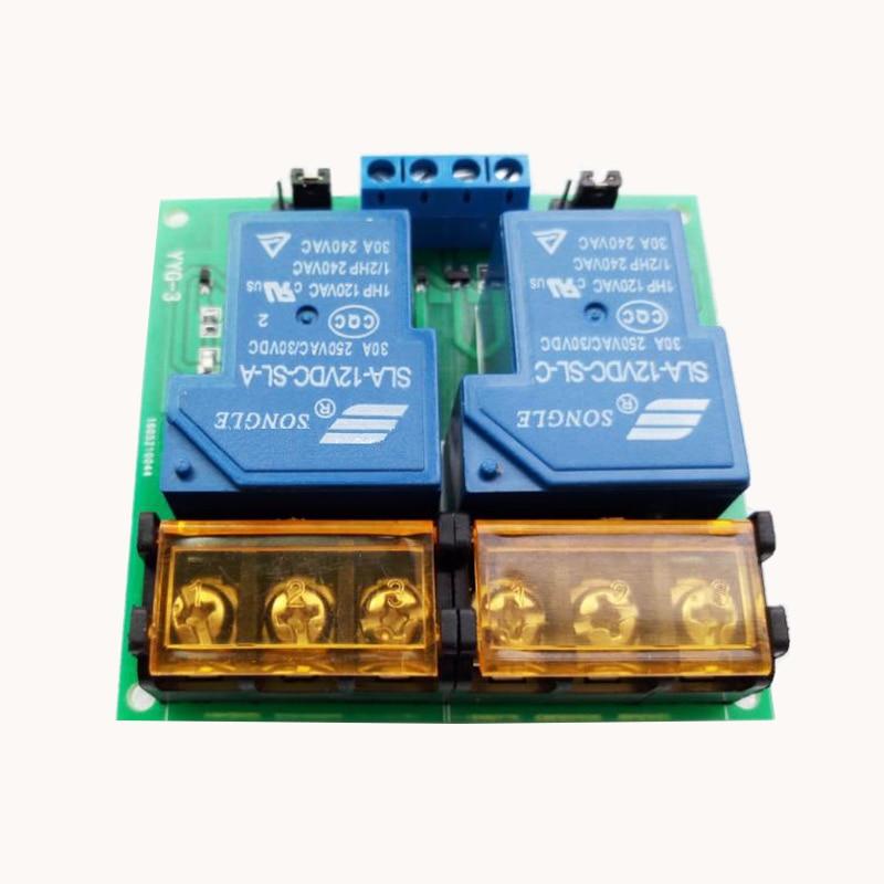 Módulo de relé 30A/módulo de relé de aislamiento 30A bidireccional/optoacoplador DC5/12/24 V