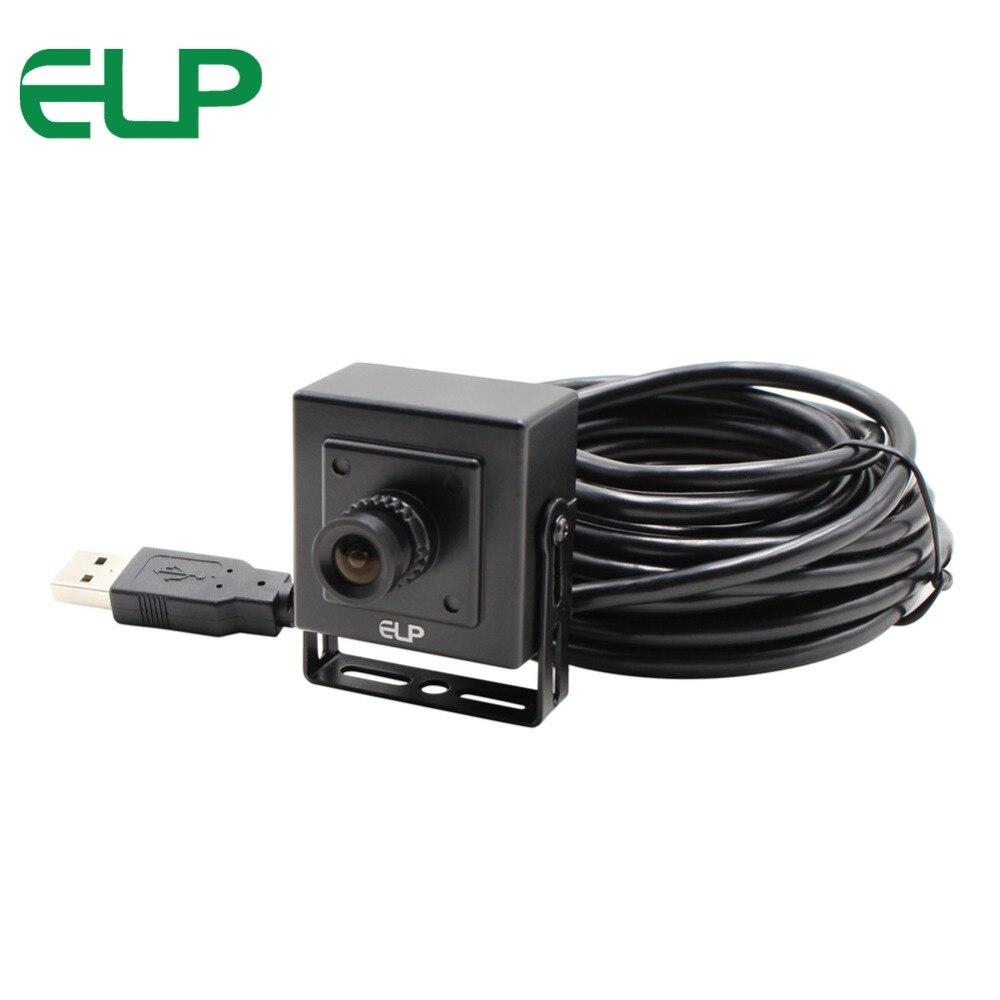 2 MP CMOS OV2710 controlador gratis lente de 2,1mm 30fps/60fps/120fps Alta Velocidad de Marco gran angular webcam HD 1080P