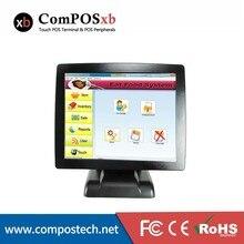 """15 """"POS All In One Touch Sistema Senza Soluzione di Continuità Led Monitor POS2120 Registratore di cassa Ristorante"""