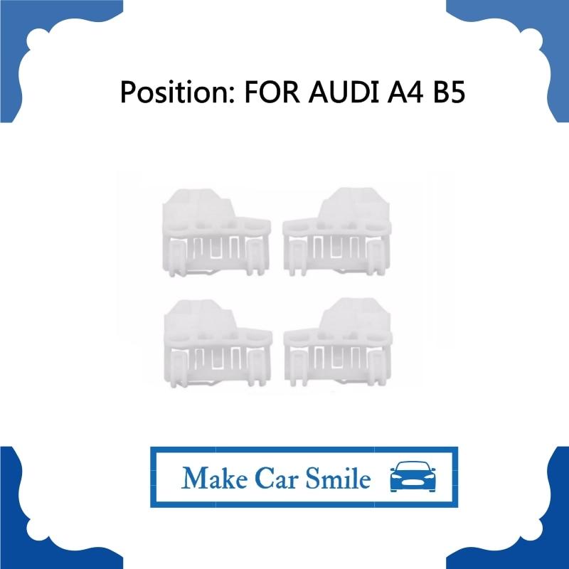 Для Audi A4 B5 стеклоподъемник комплект для ремонта спереди-влево/вправо 94-01