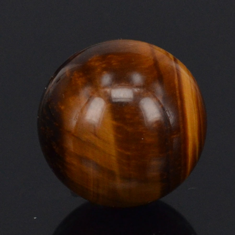 20MM Natural Stone Yellow Tiger Eye Sphere Crystal Globe Ball Chakra Healing Reiki Stone Carving Crafts