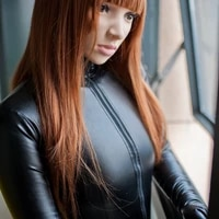luxurious customized high quality faux leather sexy catsuit fetish zentai suits