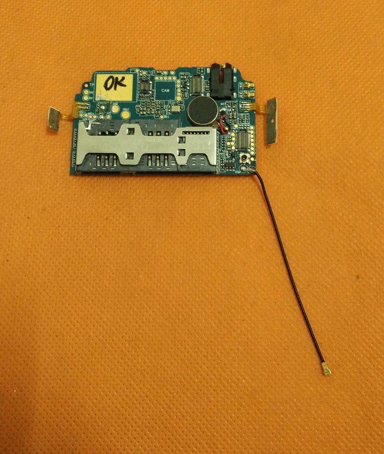 Placa base Original usada 512M RAM + 4G ROM para Hummer H5 IP68 teléfono impermeable MTK6572 Dual Core envío gratis