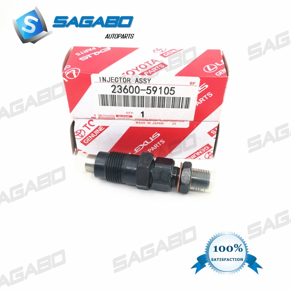 10 Uds DIESEL inyector boquilla 23600-59105, 093500-4042 para Toyota HILUX Toyota Hiace 3L 2L 1991-1998