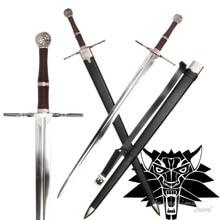 Épée médiévale acier inoxydable pour jeu vidéo   witcher3