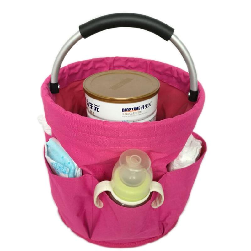 Bolsa de almacenamiento plegable SHUSHI para contenedor de leche, papel tisú para pañales, papel oxford, suministros multifuncionales para ayudar a bebés