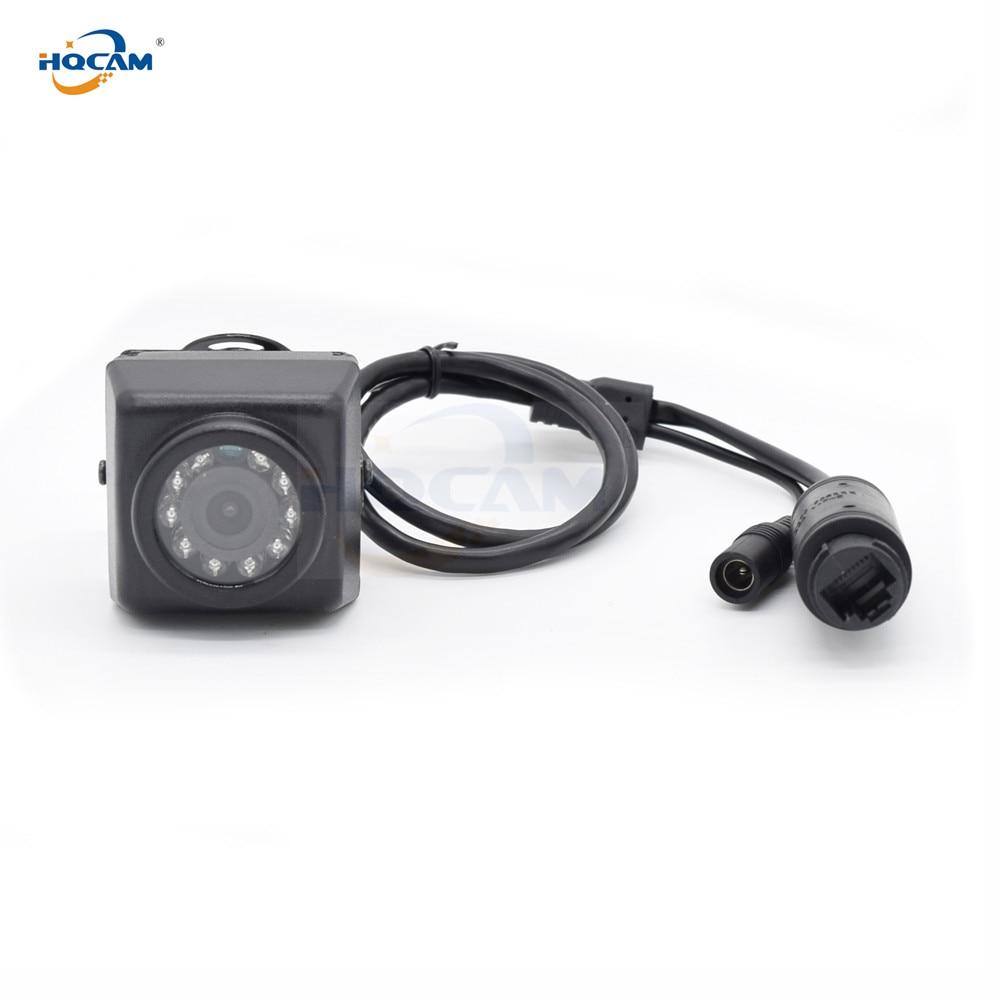 H.265 Audio 48v POE tarjeta TF Mini cámara IP 5MP 3MP Visión Nocturna exterior mini cámara ip webcam Puerta de Nido de Pájaro camhi camhipro