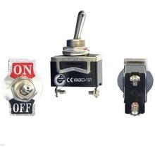 1 PC haute qualité SPST étanche interrupteur bouchon marche-arrêt Miniature interrupteurs à bascule 12A 250V VE185 P0.4