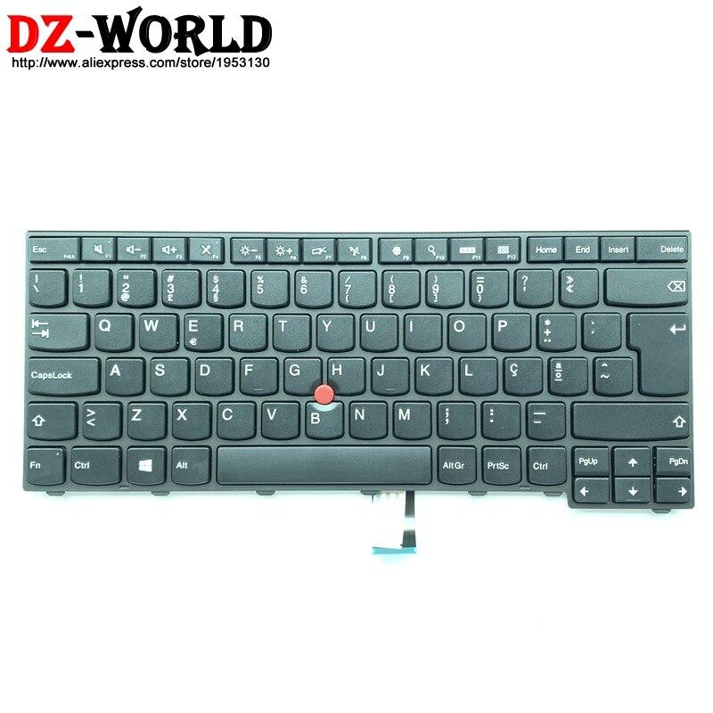 Новая Оригинальная португальский клавиатура для lenovo Thinkpad E431 E440 Portugal Teclado 04Y2748 04Y2785