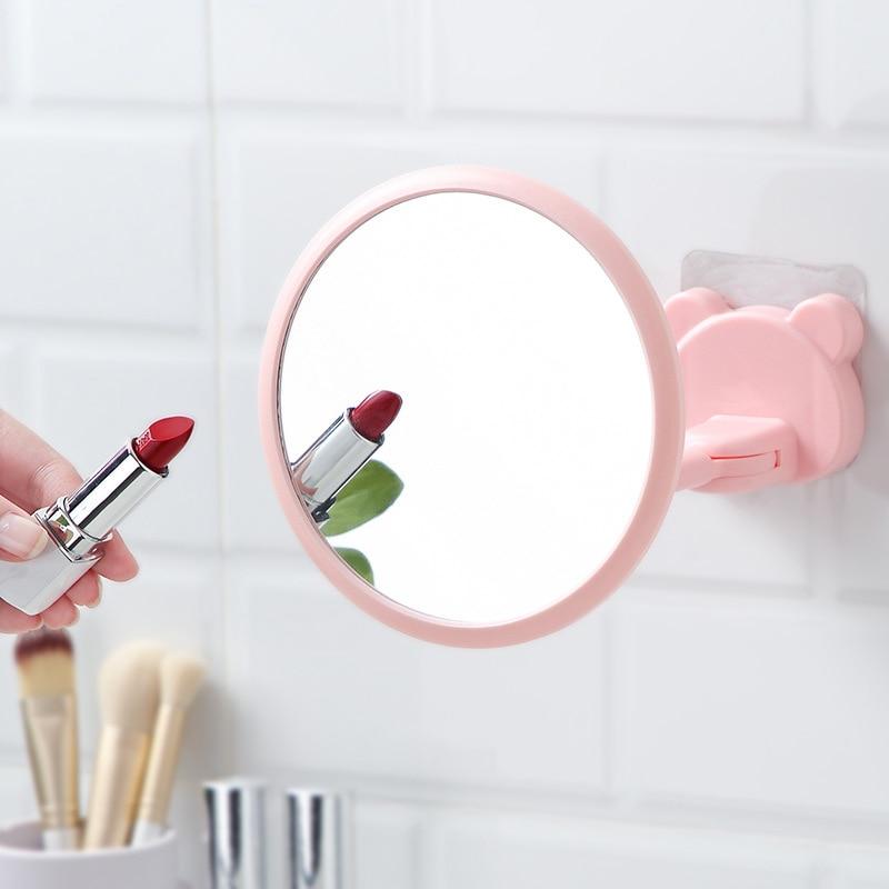 Banheiro Pequeno Espelho Redondo Espelho Do Banheiro Casa Dormitório Estudantil Rotativo Parede Espelhos Espelhos Adesivo De Parede Soco Livre