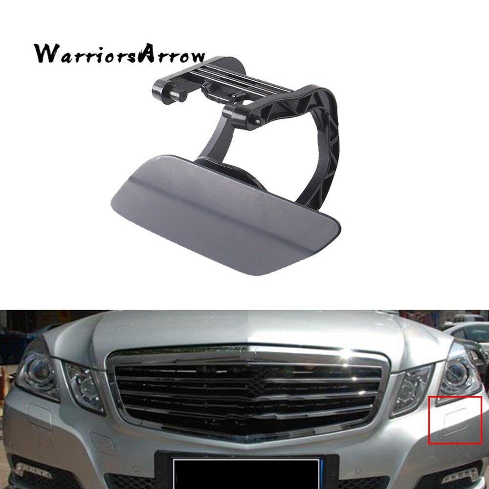 WarriorsArrow Faro de parachoques frontal TAPA DE Boquilla limpiaparabrisas tapa izquierda sin pintar para mercedes-benz W212 E200 E500 E350 2128600108