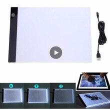 Diamant pittura Ultrasottile A4 HA CONDOTTO LA Luce Tablet, Pad, Pad Diamante Del Ricamo, pittura diamante Accessori strumento di Punto Croce scatola di luce