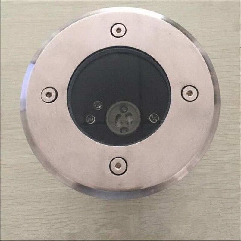 IP68 impermeable LED luz subterránea 5W GU10 Dimmable al aire libre camino de jardín suelo cementerio paisaje AC85-265V