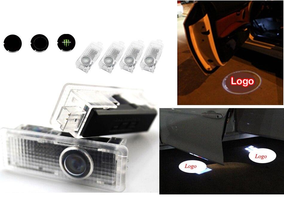 Projecteur Laser de courtoisie de porte de voiture bienvenue logo lumière pour 7 séries E65 E66 F01 F02 F03 F04(730 740 750 760)