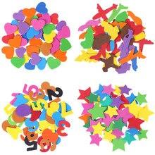 Przyjazne dla środowiska listów z pianki EVA/numery/zwierzęta naklejki dla dzieci ręcznie DIY Scrapbooking naklejki Craft Pegatinas zabawki prezentowe Aufkleber