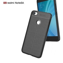 Silicone Soft Case For Xiaomi Redmi Note 5A Case Luxury leather skin Cover For Xiaomi Redmi 5A Note