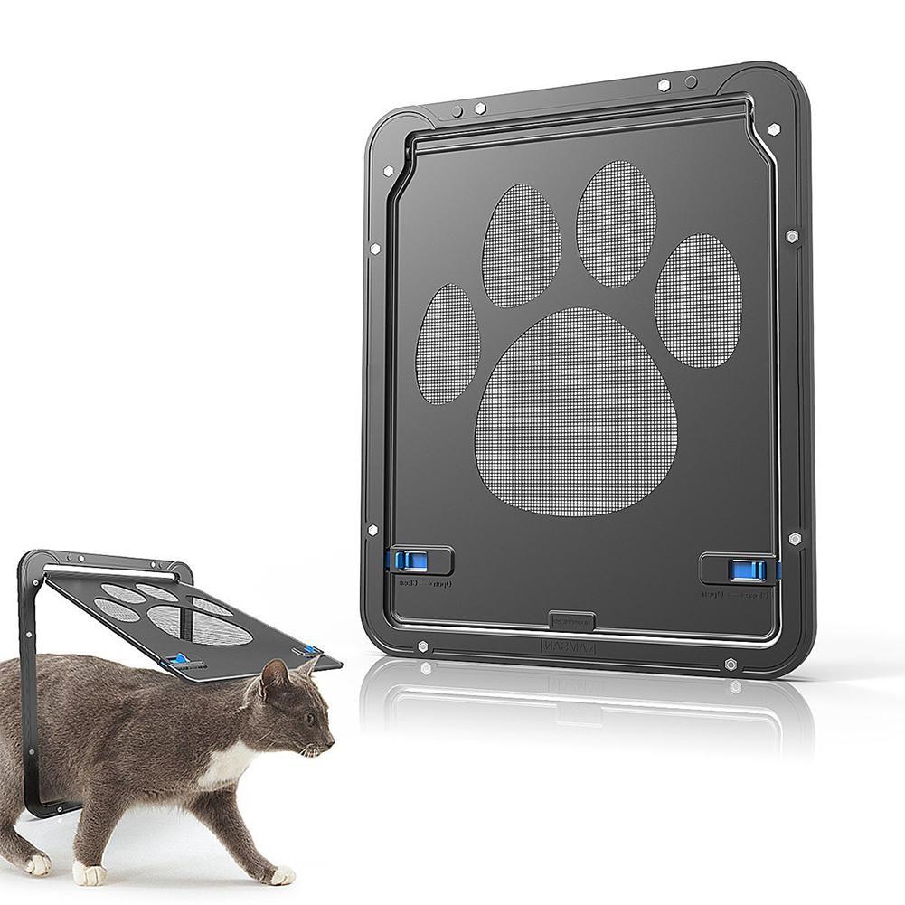 Mascota cachorro perro Pup gato Felis animales Doghole perro-túnel aleta marco de entrada puerta segura cátodo