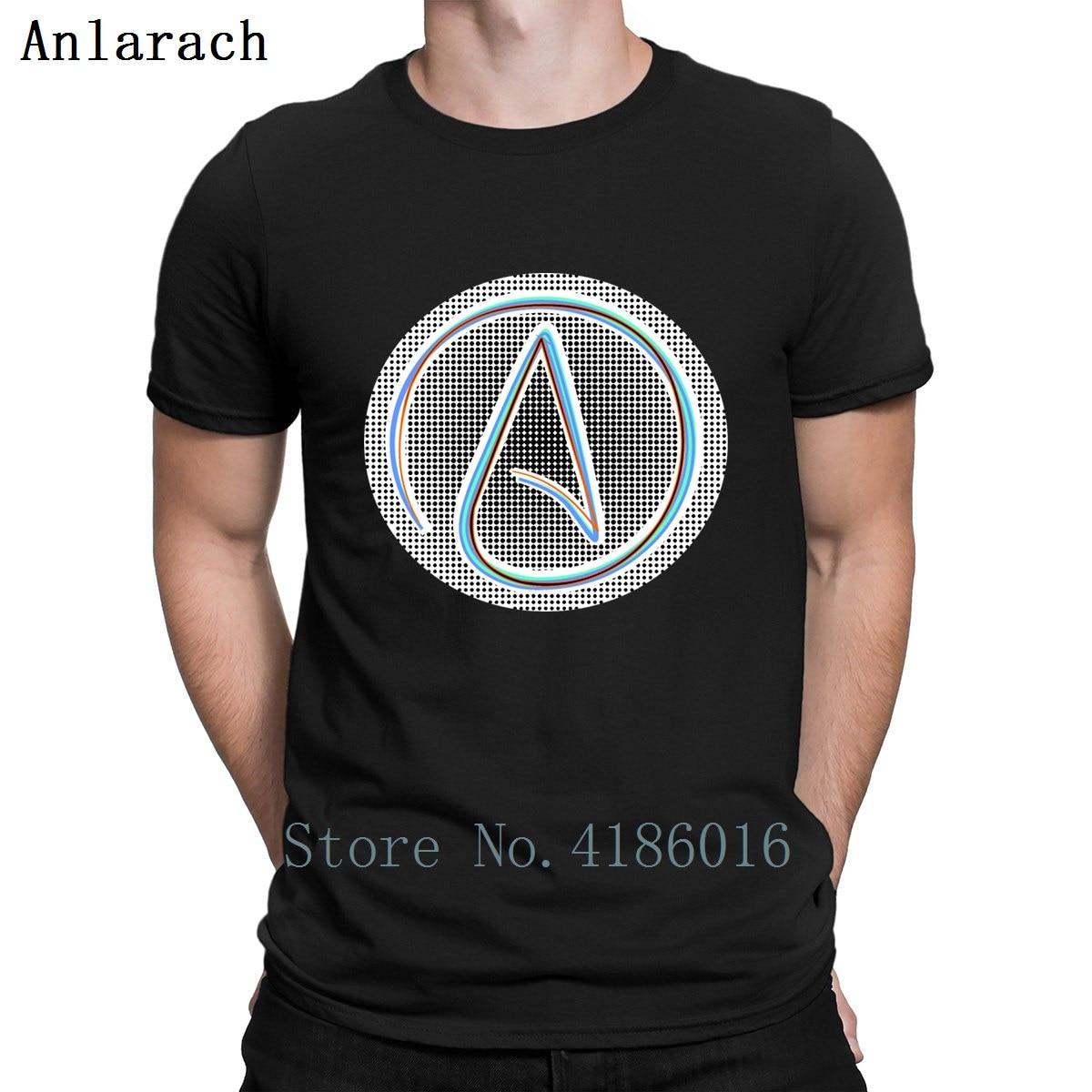 Atheist Atheism God Jesus Believe Cool Circle camiseta Normal s-xxxl Crazy Designer primavera algodón nueva moda ropa camisa