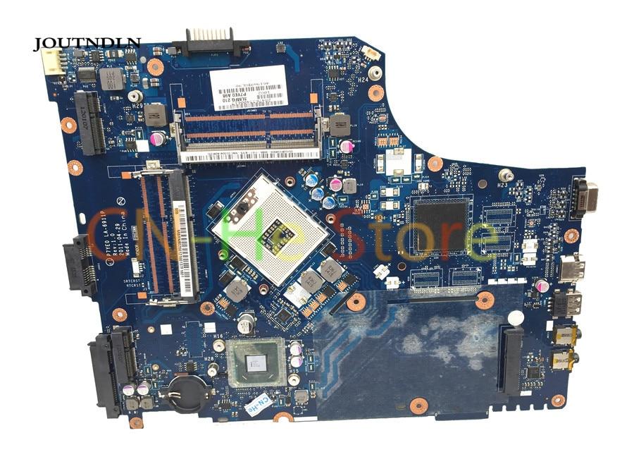 Joutndln для acer Aspire 7750 7750Z ноутбук материнская плата hm65 DDR3 MBRN802001 MB. RN802.001 P7YE0 LA-6911P