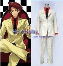 Umineko no Naku Koro ni Battler Male Cosplay Costume Complete Suit For Men Spring Dress Halloween Clothing Clothes