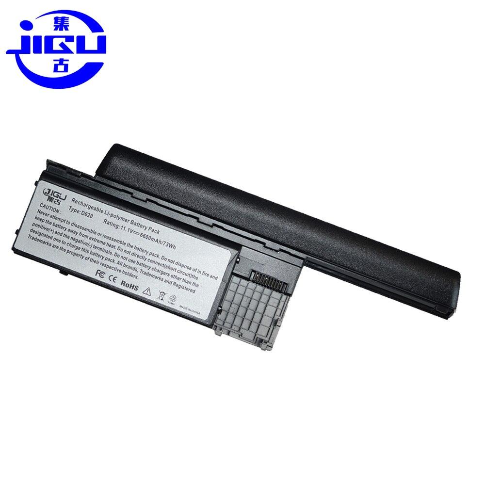 JIGU 6600MAH Da Bateria Do Portátil Para Dell NT379 PC764 PC765 PD685 RC126 RD300 RD301 TC030 TD116 TD117 TD175 TG226 UD088 Latitude D620