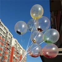 12inch 5pcs static foam latex magic balloons happy birthday decoration balloon party supplies wedding inflatable balls kid toys
