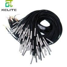 10 pièces étanche 18B20 sonde de température capteur de température en acier inoxydable paquet 1 mètre/2 mètres/3 mètres de fil (DS18B20)