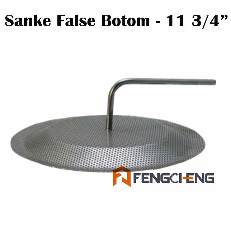 SS304-قاع كاذب Sanke ، 11 ، 3/4 بوصة ، أنبوب 3/8 بوصة ، تحويل Sanke إلى Mash Tun ، جميع ملحقات تخمير الحبوب ، hopback