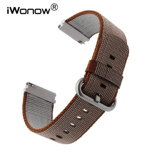 22mm Quick Release Nylon Watchband for LG G Watch Urbane Asus ZenWatch 1 2 Men WI500Q WI501Q Cookoo Wrist Band Fabric Belt Strap