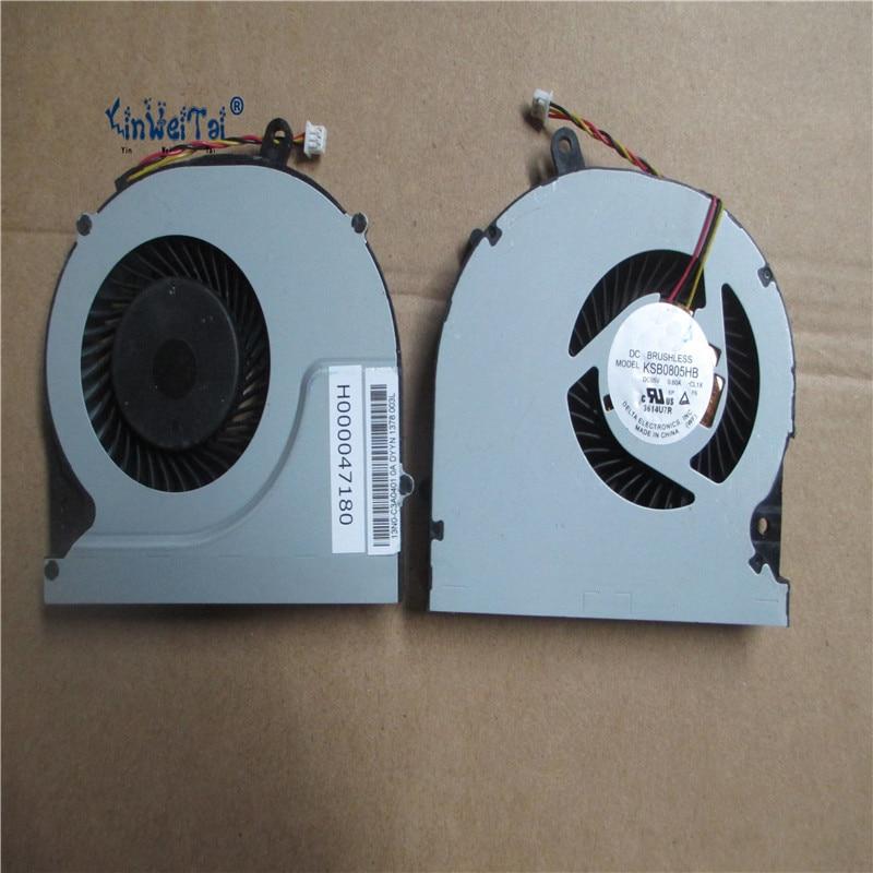 Бесплатная доставка вентилятор охлаждения для Toshiba Tecra R850 R950 Вентилятор охлаждения процессора для KSB0805HB-CL1X Вентилятор охлаждения процессор...
