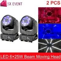 6x25w led beam moving head 6x25w super beam led moving head light washer effect light led moving head bar effect led dj light