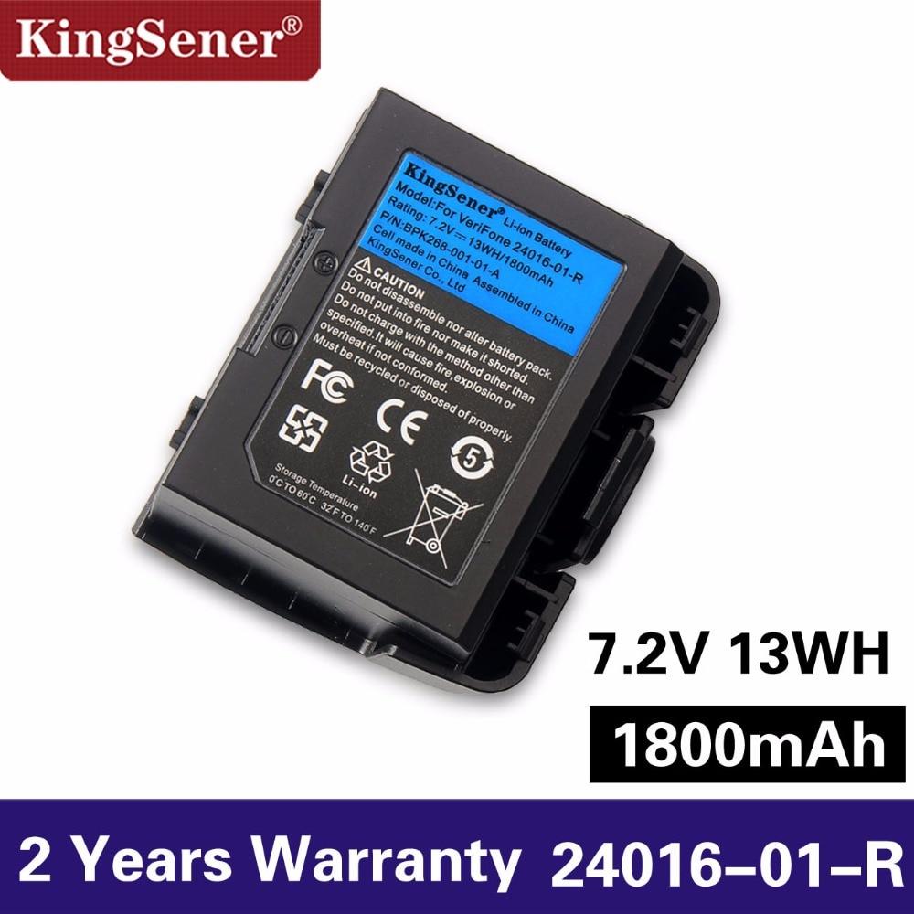 KingSener Новый 24016-01-R POS аккумулятор для VeriFone VX670 VX680 24016-01-R беспроводной терминал ATM машина 7,2 V 1800mAh