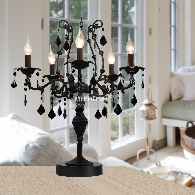 Lámpara De Pie De Cristal Vintage, 5 luces, lámpara De Pie para, accesorio De Cristal, lámpara De Pie, centro De mesa