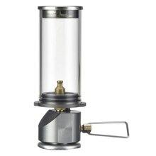 Уличный портативный мини-светильник для кемпинга, бутановый газовый светильник, лампа для кемпинга, палатка, газовая лампа, лампы и фонари