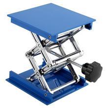 Routeur en aluminium Table élévatrice gravure laboratoire support de levage support plate-forme élévatrice Sculpture support de levage pour le travail du bois