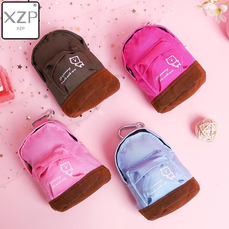 Женский мини-кошелек XZP, с застежкой-молнией, в стиле «Оксфорд», «миньрюкзак», для девочек и детей