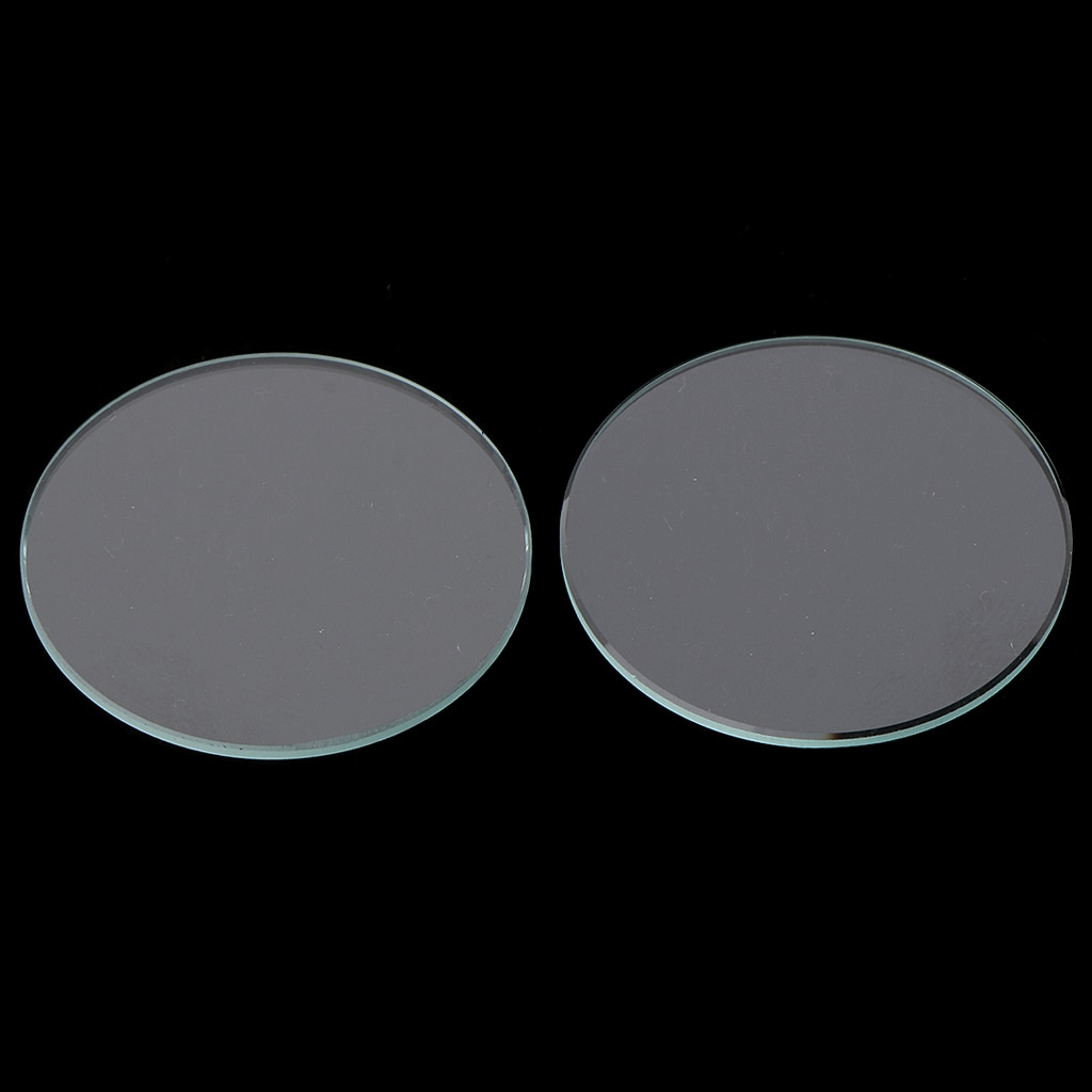 20pcs 1.0mm Thick Hight Quality Flat Mineral Watch Glass Round Watch Crystal