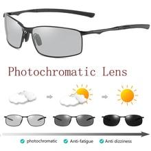 HD Polarized Photochromic Sunglasses Mens Transition Lens Driving Fishing Glasses Male Driver Safty Goggles Oculos gafas de sol