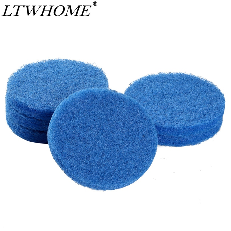 Almohadillas de filtro finas compatibles con LTWHOME para Fluval FX4/FX5/FX6