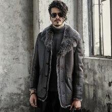 Turkish Tuscan wool Dark green Sheepskin Shearling Jacket B3 Flight Jacket