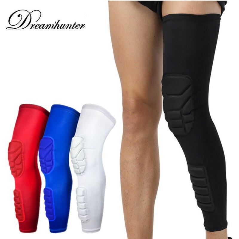 Honeycomb baloncesto deportes Kneepad Kneelet protector hombres mujeres fútbol ciclismo Fitness rodilleras mangas pierna rodilla guardia
